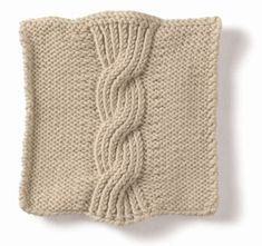 Knitting: Cable: Seven Sisters