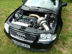 want some engine with that turbo? Audi Motorsport, Race Engines, Audi Sport, Audi Cars, Sweet Cars, Car Engine, Modified Cars, Hot Cars, Cars Motorcycles