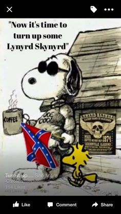 Snoopy has good music choice!
