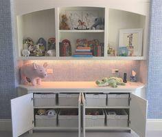Organized Play room, organized toys, organized stuffed animals, A NEAT Denver Playroom