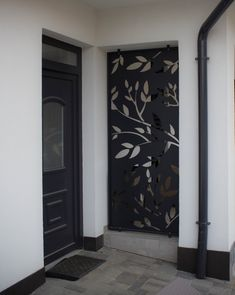Metal Doors, Door Design, Modern, Home Decor, Balcony, Metal Gates, Trendy Tree, Decoration Home, Room Decor