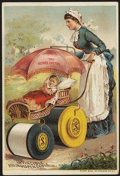 Try Kerr's cotton. Invincible and indispensable. [front] | Flickr: partage de photos!
