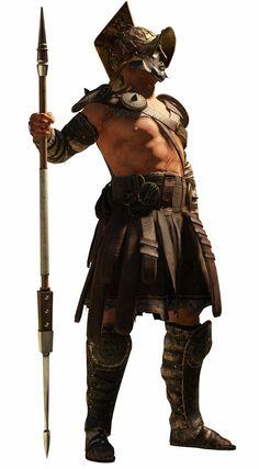 Gladiator with Hasta