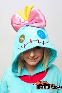 (Fleece) Scrump Onesie Kigurumi Character Costume Adult Pajamas