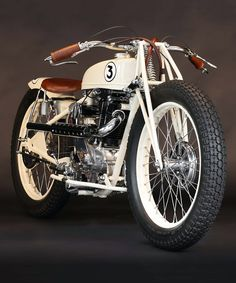 motoball - essentially soccer with motorcycles - brought with it some truly remarkable bikes, and this koehler-escoffier by heroes motorcycles is a pristine example.