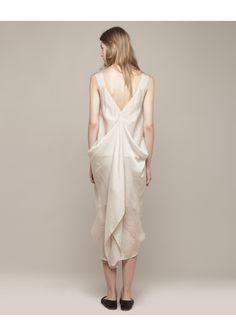 Zero + Maria Cornejo / Looma Dress: #weddingdress #silk