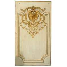Louis XV Boissere panel | From a unique collection of antique and modern decorative art at https://www.1stdibs.com/furniture/wall-decorations/decorative-art/