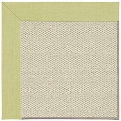 Capel Inspirit Linen Machine Tufted Light Green/Beige Area Rug Rug Size: 8' x 10'