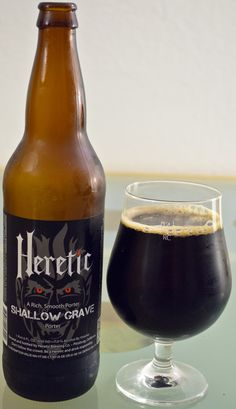 Heretic's Shallow Grave - There is a reason Jamil was so confident in this brew, and it is because it is really spot on. Everything tastes and feel perfectly balanced from the roasted chocolate malts, to the coffee, and even the body. This is really a textbook example of everything a Porter should be.