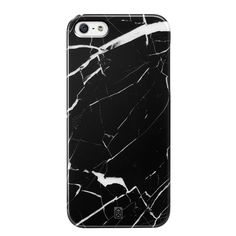 Black marble iPhone 5 case