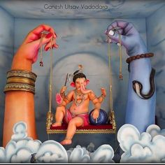 Make this Ganesha Chathurthi 2020 special with rituals and ceremonies. Lord Ganesha is a powerful god that removes Hurdles, grants Wealth, Knowledge & Wisdom. Ganesha Drawing, Lord Ganesha Paintings, Ganesha Art, Krishna Art, Hare Krishna, Ganesh Chaturthi Decoration, Ganesh Chaturthi Images, Shri Ganesh Images, Ganesha Pictures