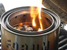 Modified worldstove burn test