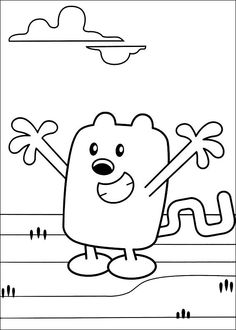 Wow Wow Wubbzy Coloring Pages 17
