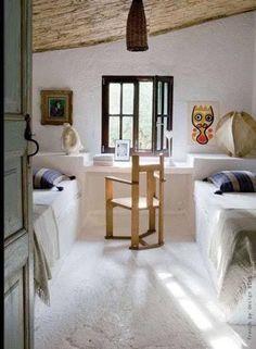 Une jolie chambre d'enfant à aménager sous les combles