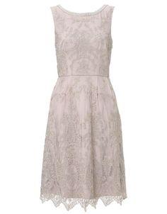 Beatrice Dress | Nude | Monsoon