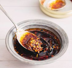 Homemade Chilli Oil – Marion's Kitchen – Famous Last Words Homemade Chicken Soup, Homemade Chili, Kitchen Recipes, Cooking Recipes, Chili Oil, Exotic Food, International Recipes, Sauce Recipes, Asian Recipes