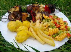 Salat grillen vegan