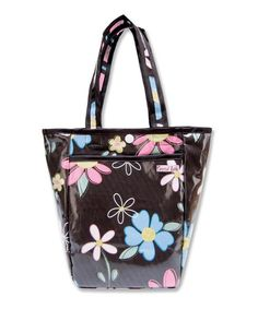 Take a look at this Black & Pink Blossoms Mini Diaper Bag by Trend Lab on #zulily today! $9.99, regular 18.00.  Sale ends in 2 days, 17 hours; or, in other words on Monday, June  9th in the afternoon. So if you're interested, get on it! :)