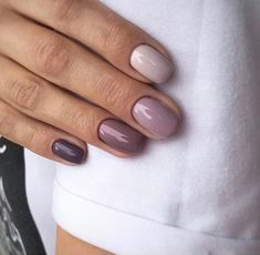 20 Hottest & Catchiest Nail Polish Trends in 2019 Na.- 20 Hottest & Catchiest Nail Polish Trends in 2019 Nails - Fall Nail Colors, Nail Polish Colors, Matte Nail Polish, Shellac Nails, Nail Manicure, Acrylic Nails, Gradient Nails, Ombre Shellac, Cute Nails