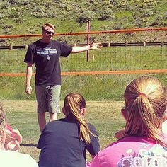 King Of The Mountain Vail Co Dax Holdren Giving Some Tips At The Free Clinic Source Avp Com Gallery Dax Volleyball Vail