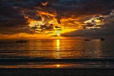 Sunset at Jamaica