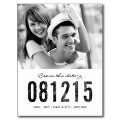 >>>This Deals          NUMBERS Save The Date Postcard           NUMBERS Save The Date Postcard you will get best price offer lowest prices or diccount couponeHow to          NUMBERS Save The Date Postcard please follow the link to see fully reviews...Cleck Hot Deals >>> http://www.zazzle.com/numbers_save_the_date_postcard-239117143387645844?rf=238627982471231924&zbar=1&tc=terrest