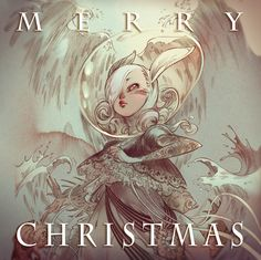 ・゚'☆ Merry Christmas ☆ Buon Natale ☆Feliz Navidad ☆ Bon Noël ・゚'☆ ・゚' @(*゚▽゚)@ /゚( draw by Barbucci, color by me ).Follow ...