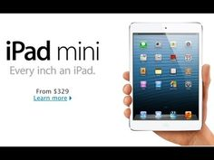 Official iPad Mini Trailer - 2012 Apple Commercial