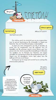Πώς γράφουμε μία επιστολή;