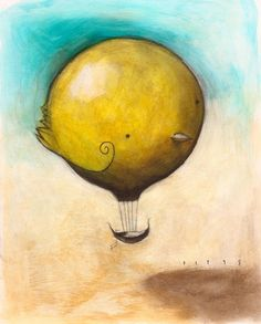 Dream Balloon, Yellow Bird.....sethfitts