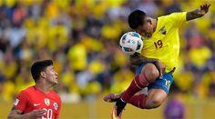 Ecuador vs Chile en Quito camino a Rusia 2018, fue 3-0 para el tricolor