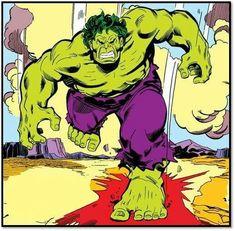 Hulk Avengers, Hulk Marvel, Marvel Comics Superheroes, Marvel Heroes, Sal Buscema, Red Hulk, Nerd Art, Retro, Hulk Smash