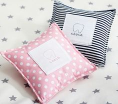 Tooth Fairy Pillows #PotteryBarnKids