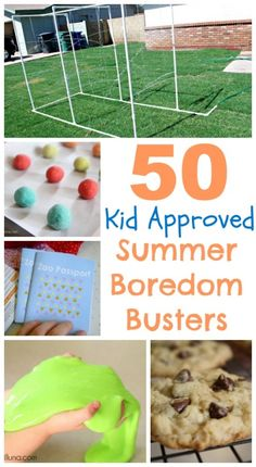 My kids have been obsessed with playing outside and I wanted to gather some fun things for them to do. Also, I'm hosting our ward playgroup this week so we want some fun things to entertain the crazy kiddos! via Better Together Savannah's hubby built this awesome sprinkler here.  DIY Kids picnic table via Ana White …