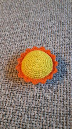Hæklet sol - FRIRUMMET