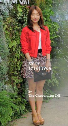 News Photo: Park Shin Hye attends the Kolon Sport 2013…