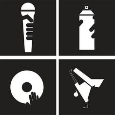 THE 4 ELEMENTS OF HIP HOP