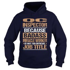 QC INSPECTOR T-Shirts, Hoodies. Check Price Now ==► https://www.sunfrog.com/LifeStyle/QC-INSPECTOR-97186071-Navy-Blue-Hoodie.html?id=41382