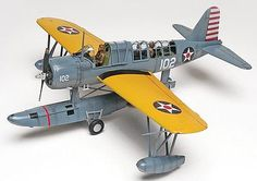 OS2U Kingfisher Plastic Model Airplane Kit 1/48 Scale by Revell-Monogram (855260)