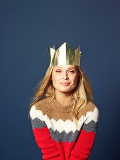 A jumper fit for a Christmas queen! #boden
