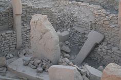 Enclosure C, especially its central pillars, were heavily damaged in prehistory, after the Neolithic period. Prehistory, Period, Prehistoric