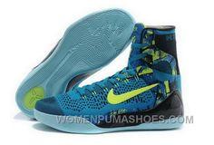 62486d7a29a4 Buy Cheap Nike Kobe 9 High 2015 Blue Green Mens Shoes Copuon Code Yt5sYw