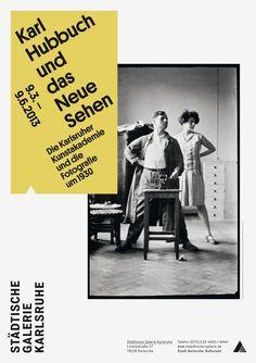 Poster for Städtische Galerie Karlsruhe by Lars Harmsen
