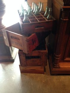 old boxes - some come with bottles