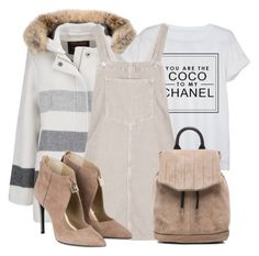 """""""Untitled #2192"""" by dceee ❤ liked on Polyvore featuring Woolrich, Chanel, Topshop and rag & bone"""