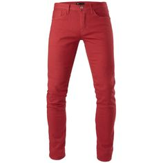 3x1 M5 Low Rise Slim (340 CAD) ❤ liked on Polyvore featuring men's fashion, men's clothing, men's jeans and mercury