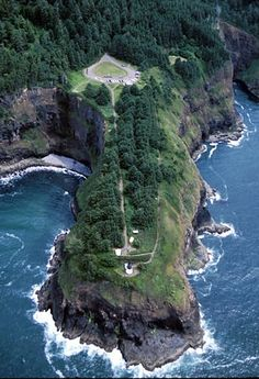 Cape Meares Lighthouse, Oregon at Lighthousefriends.com
