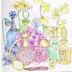 おはようございます♡ 絵に合わせて、水彩色鉛筆の塗り方を変えてみました。 より水彩らしくなったかな??…