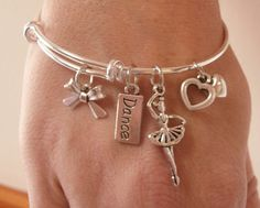 Are you looking for the perfect dance gift?  Check out this super cute Dance Charm Bracelet that your dancer will love!  Also, check out the huge selection of dance jewelry from TheDancingShop.com or just use this Mini Boutique to shop now for your favorite dancer.