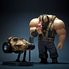 The Last Hire by Fool's Paradise (Sep 2017) #thelasthire #foolsparadise #fatsuma #bane #batman #designertoy #dc #awesome #cool #instacool #beautiful #beauty #amazing #love #instalove #fun #art #instagood #collectible #toy #new